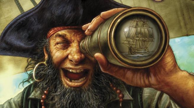 Pirata-cannocchiale